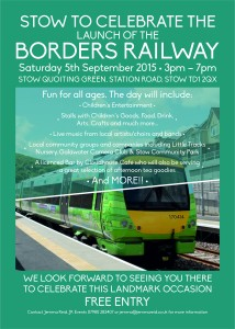 Stow Celebrates the Launch of the Borders Railway